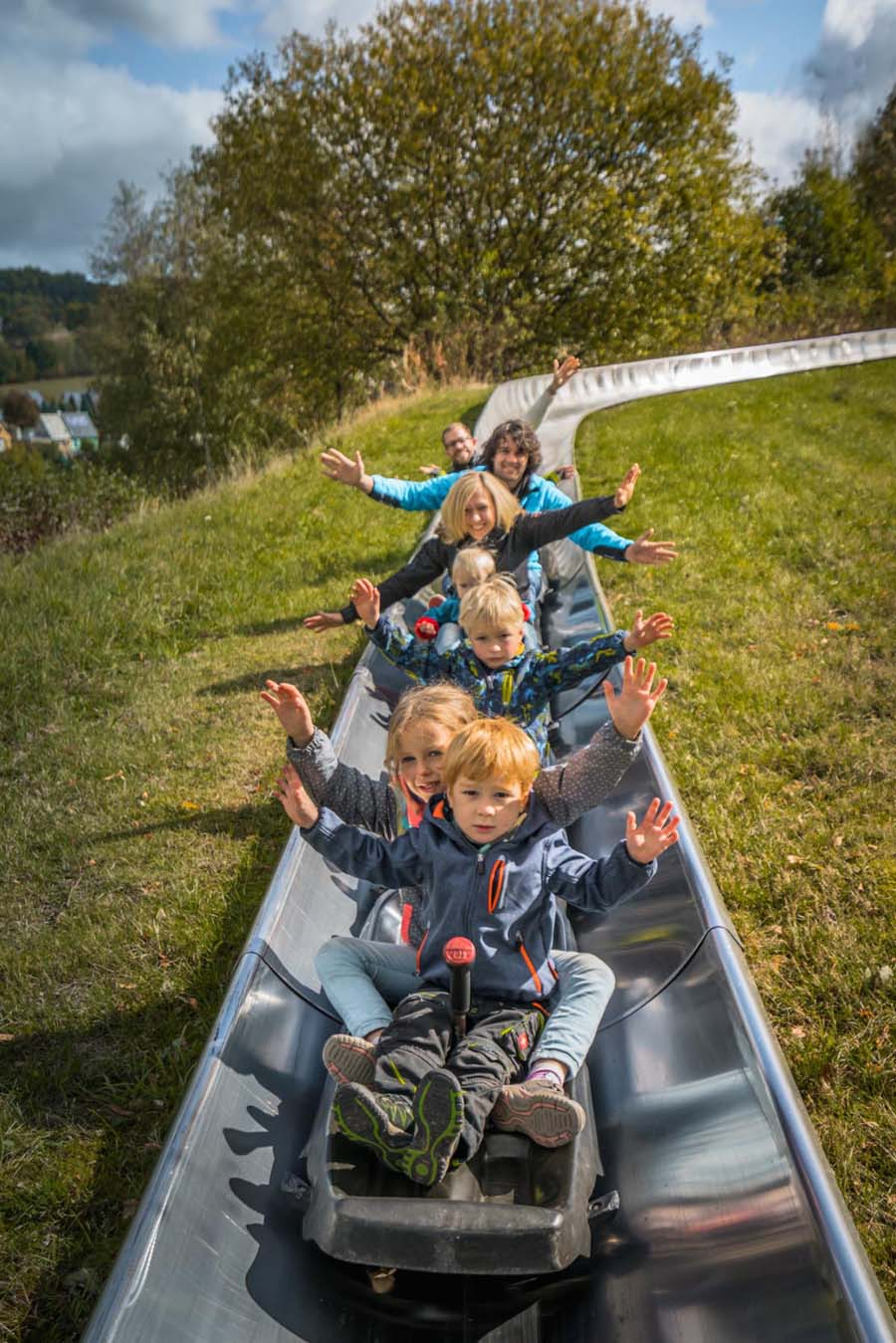 Erlebniswelt Seiffen - Sommerrodelbahn, Spaß für die ganze Familie